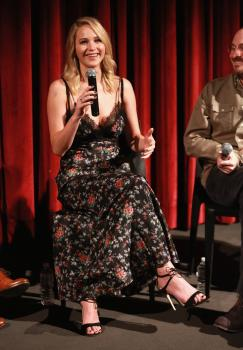 Jennifer Lawrence at the Official Academy Screening 1