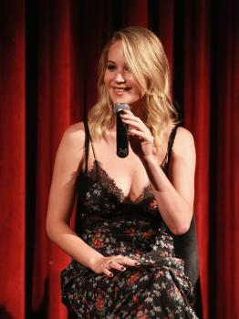 Jennifer Lawrence at the Official Academy Screening 2