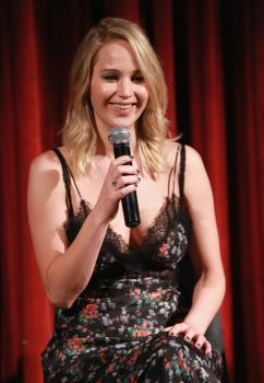 Jennifer Lawrence at the Official Academy Screening 3