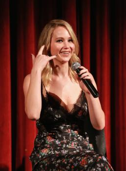 Jennifer Lawrence at the Official Academy Screening 4