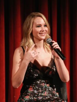 Jennifer Lawrence at the Official Academy Screening 8