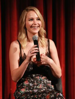 Jennifer Lawrence at the Official Academy Screening 9