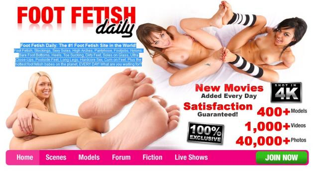FootFetishDaily - SiteRip (Updated May 2017)