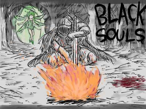 (同人ゲーム)[170730][イニミニマニモ?] BLACKSOULS -黒の童話と五魔姫- (Ver.1.04) [469M] [RJ203687]