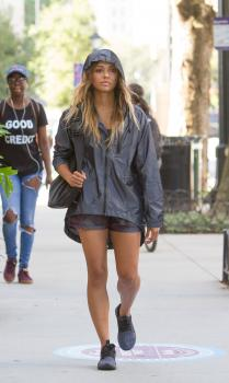 Kat Graham leaving the gym in NYC 15