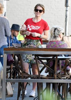 Alice Eve has lunch at Cafe Gratitude 6