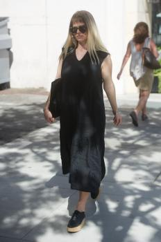 Alice Eve out in Beverly Hills 10/9/17 3