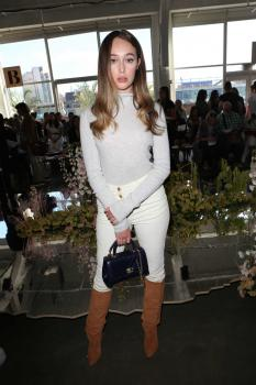 Alycia DebnamCarey at the Ulla Johnson Show 5